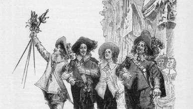 Д'Артанян и Тримата мускетари